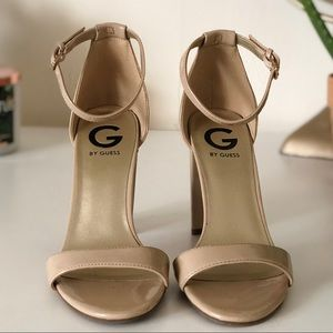 G by GUESS Nude Heels.